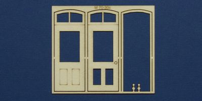 M 70-30c O gauge single door with round transom type 2