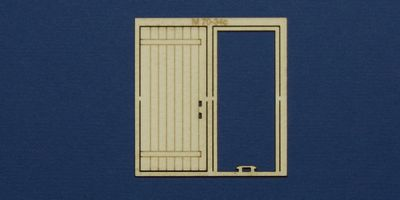 M 70-34c O gauge single industrial door type 1