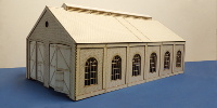 B 70-23 O gauge double road engine shed